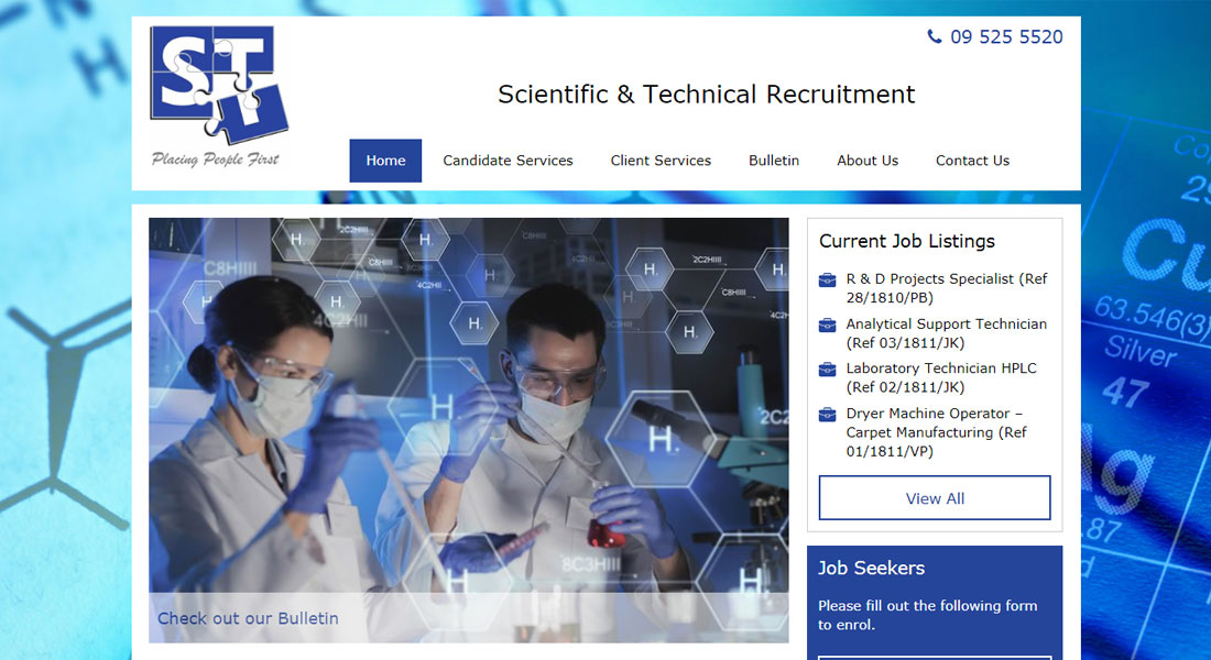 Scientific & Technical Recruitment